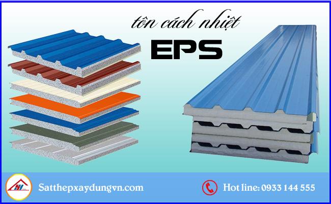 Tấm tôn cách nhiệt EPS